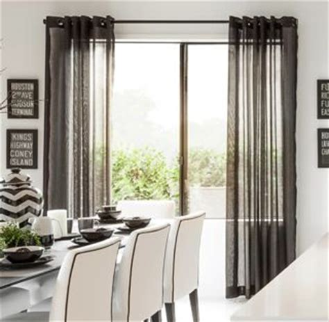 charcoal sheer curtains sheer curtain ideas how to get maximum impact for minimal