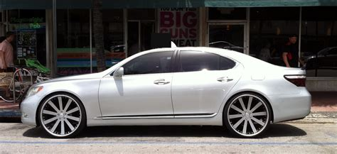 lexus ls custom lexus ls 460 custom wheels find the classic rims of your