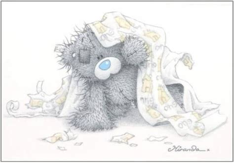 Cartes Sleeping Blanket tatty teddy pictures images photos