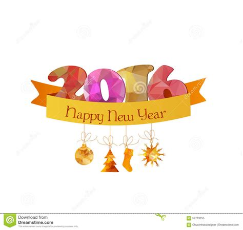 new year greeting card design 2016 happy new year 2016 greeting card or poster design with