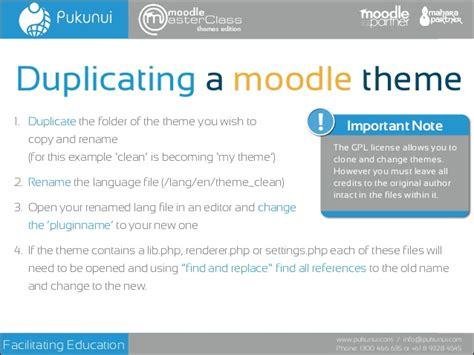 moodle theme sheets moodle bootstrap theme masterclass 2014