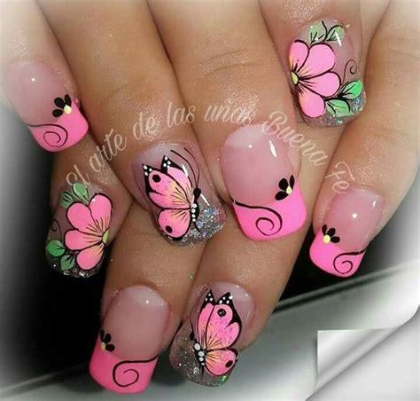 imagenes uñas decoradas mariposas 25 u 209 as decoradas con mariposas