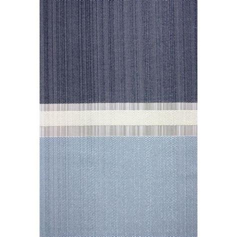 vorhang blau gestreift restseller24 fl 228 chenvorhang gestreift blau grau