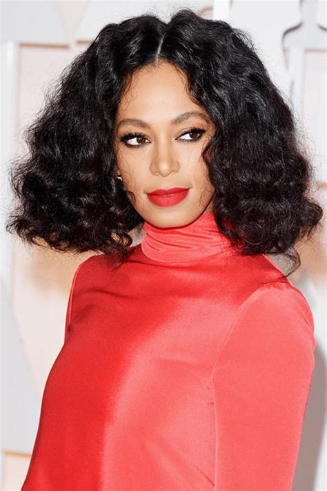 solange hair styles parted in the middle oscars 2015 celebrity hairstyles and makeup fashionisers