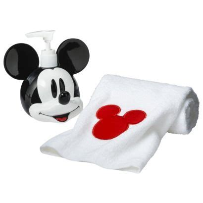 Mickey Mouse Bath Accessories Disney College Program Mickey Mouse Bathroom Accessories