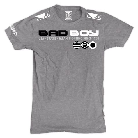 T Shirt Badboy bad boy mma t shirts walk in tees shogun fight t shirts