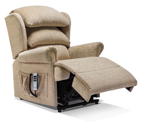 Small Cloth Recliners Small Fabric Lift Rise Recliner Sherborne