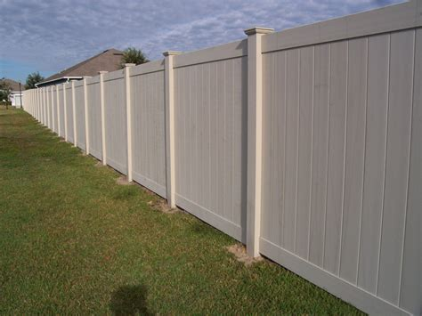 vinyl fence costs fences