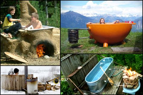 Outdoor Bathtub Wood Fired by Inspiring Ideas For Outdoor Living Living Big In A Tiny House