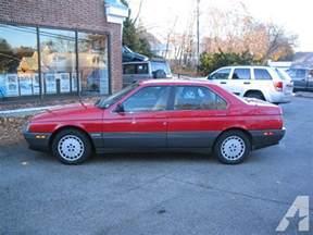 1991 Alfa Romeo 164 For Sale 1991 Alfa Romeo 164 L 1991 Alfa Romeo 164 Model Car For