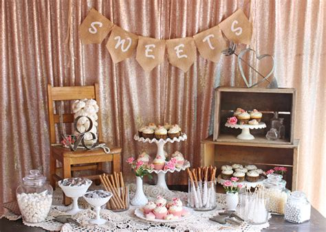 vintage wedding dessert table glorious treats