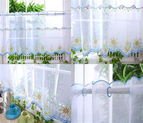 voile kitchen curtains kitchen voile cafe net curtain panel 25 new designs 12