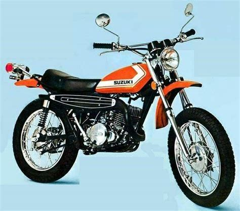 Suzuki Road Trail Bikes Fall Of The Mighty 2 Stroke Motorcycle Lifestyle Driven
