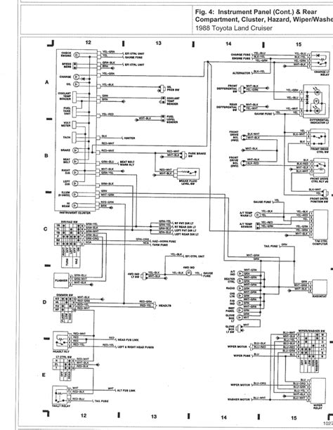 toyota land cruiser radio wiring diagram car wiring 88lc wd4 toyota land cruiser wiring diagrams