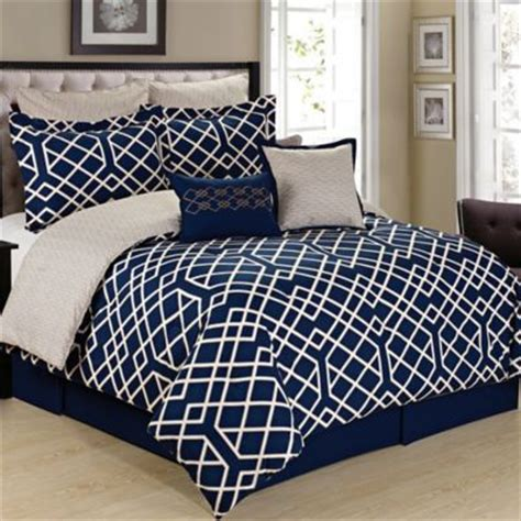 navy and cream bedding buy navy bedding set from bed bath beyond