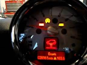 Warning Lights On Mini Cooper Mini Service And Brake Light