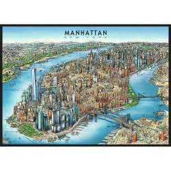 Of Manhattan Manhattan Map 1000 Puzzle 4005556193998