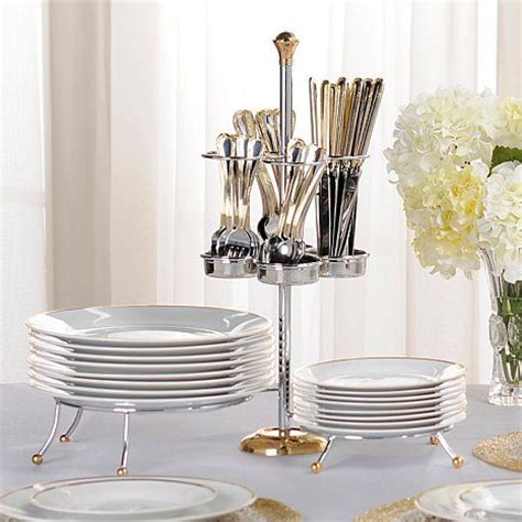 colin cowie 49 piece buffet set with caddy at hsn com