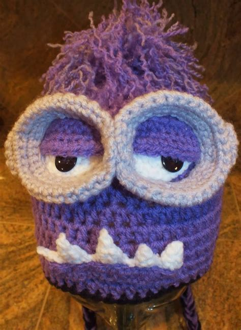 Free Crochet Pattern Minion Hat