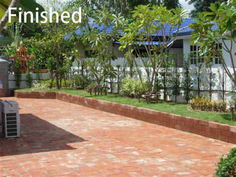 Bangkok Garden New by Block Paving And Landscaping In Bangkok Garden Thai