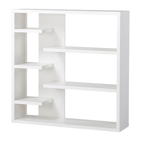 homestar 6 shelf storage bookcase in white the home
