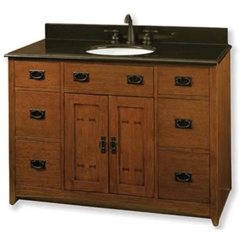 mission style bathroom vanities mission style vanity mission style pinterest