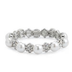 pearl amp daisy bracelet wedding dress from jon richard
