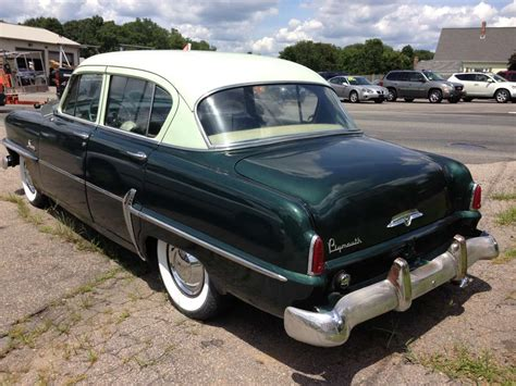 1954 plymouth savoy for sale curbside classic 1954 plymouth savoy affection
