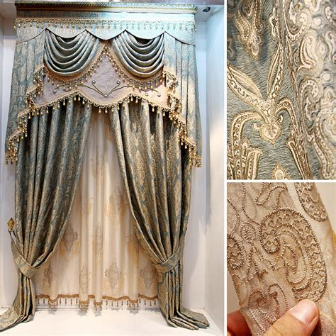 Luxurious Drapes Shop Popular Luxury Curtains From China Aliexpress