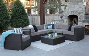 all modern outdoor furniture 7pc patio set modern outdoor sectional sofa furniture