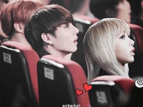 blackpink ideal type k pop couple fantasy bts jungkook blackpink lisa kpopmap