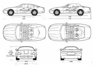 Jaguar Dimensions The Blueprints Blueprints Gt Cars Gt Jaguar Gt Jaguar Xk