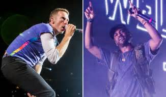 coldplay big sean coldplay team with big sean for new song miracles