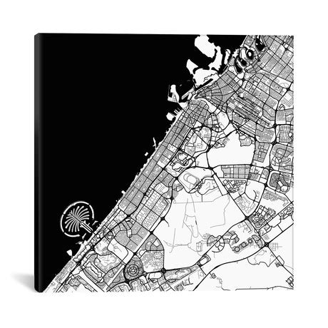 draw deck maps city map canvas prints touch of modern