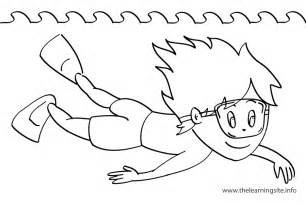 verbs actions coloring pages