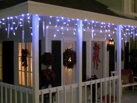 phillips led cascading cool white christmas icles philips led cascading icicle light set 12 count doovi