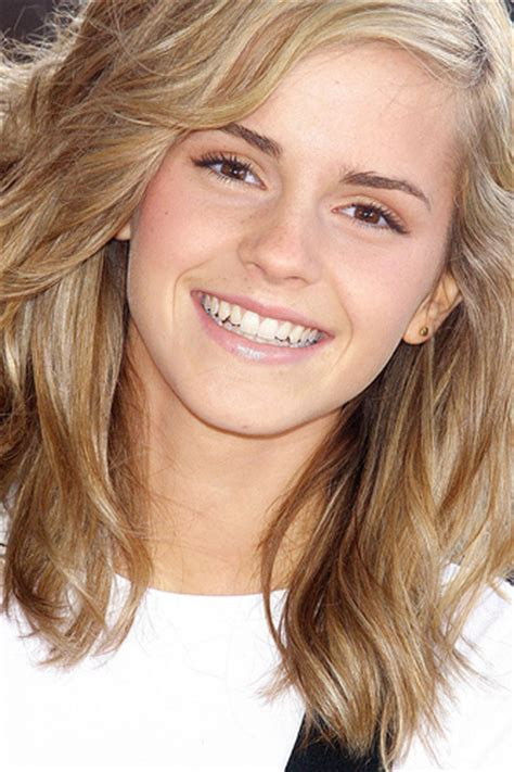 emma watson natural hair color which hair color do you think looks the best on emma