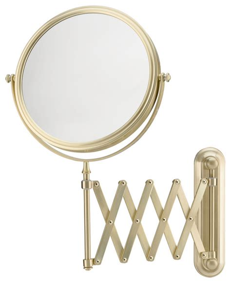bathroom mirror wall mount with extension arm extension arm wall mirror with 5x and 1x magnification