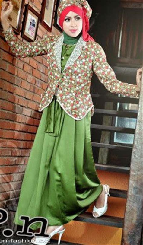 16 contoh model gamis muslimah trendy kumpulan model