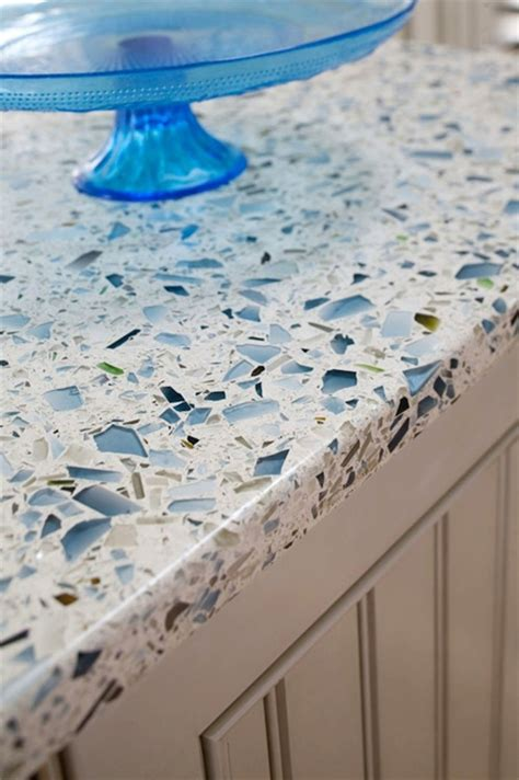 Poured Glass Countertops by 5 Sustainable Countertops That Are Better Than Granite