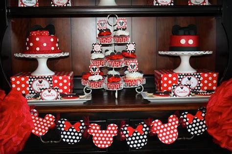 kara s ideas mickey minnie mouse themed