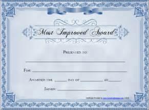 Blank Award Certificate Template by Award Certificate Template 29 In Pdf Word