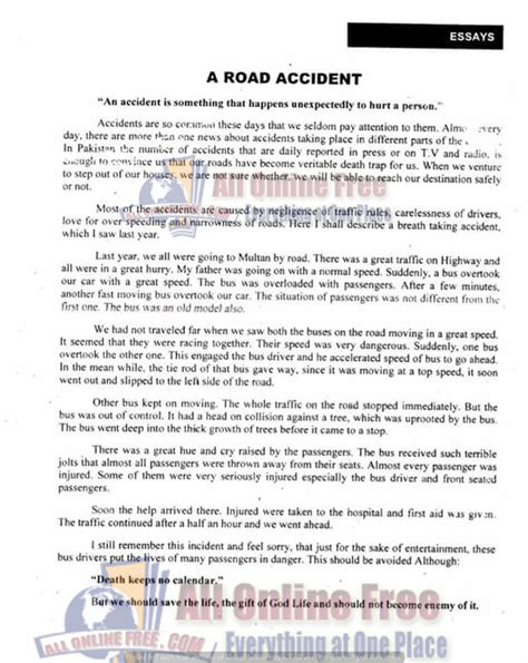 Essay For 6th Class by 10th Class Important Essays Notes Easy And Comprehensive All Free