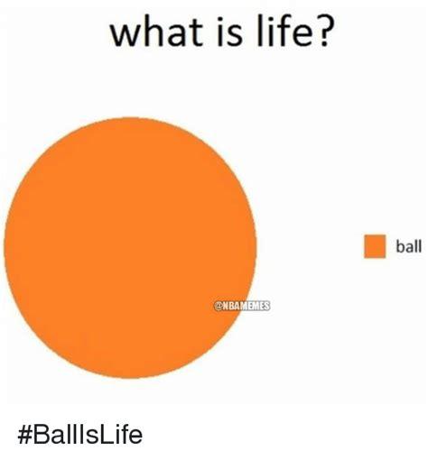 Ball Is Life Meme - what is life ball is life meme www pixshark com images