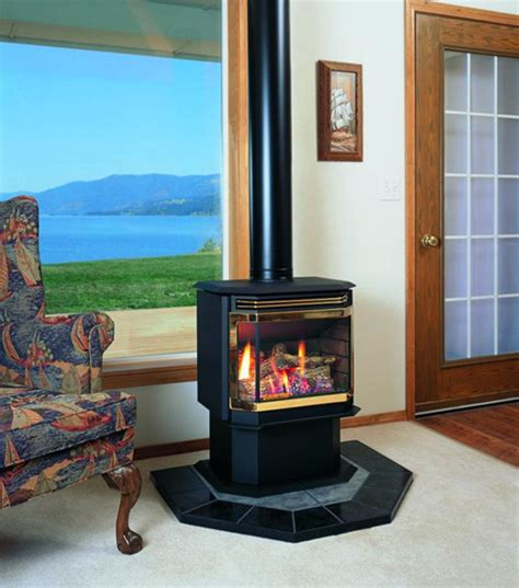 Free Standing Gas Fireplace Corner by Free Standing Gas Fireplace Interior Design