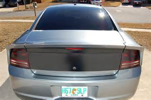 2010 Dodge Charger Rear Spoiler Dodge Charger Rear Spoilers Rear Shave Gallery Danko