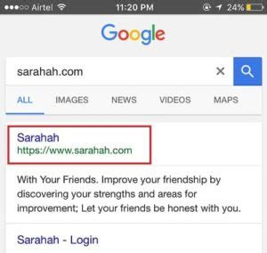 How To Search For On Sarahah Sarahah On Snapchat How To Link Sarahah To Snapchat Sarahah App
