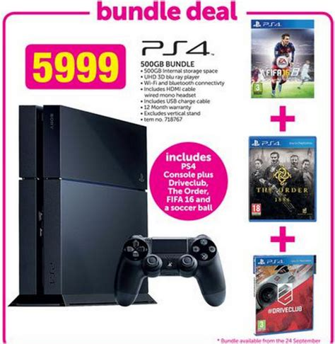 ps4 themes south africa retail gaming specials this weekend