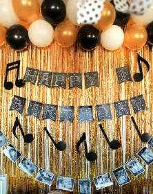 Music Themed Party Decorations A Music Themed First Birthday Party Gift Amp Favor Ideas