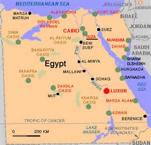 Egypt Map Africa by Maps Of Giza